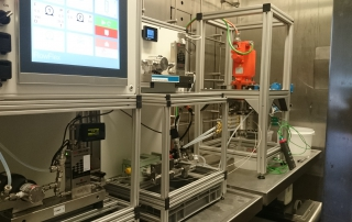 SpinPro reactor labaratory setup